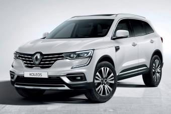 Frissült a Renault Koleos