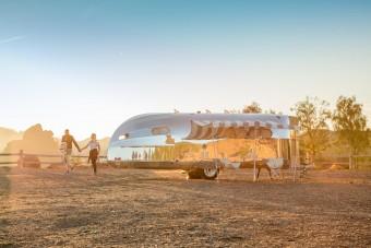 Szívesen járnánk a világot ezzel a stílusos lakókocsival