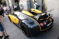 Budapesten cirkált az 1500 lóerős Bugatti Chiron 1