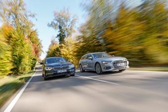 Üti az Audi A6 Avant a BMW 5 kombit?
