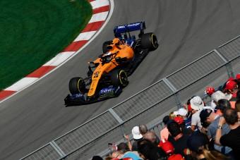 F1: Váratlanul megtáltosodott a McLaren
