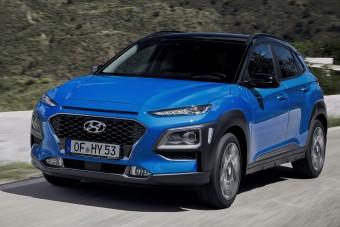 Hibridként is kapható a Hyundai Kona