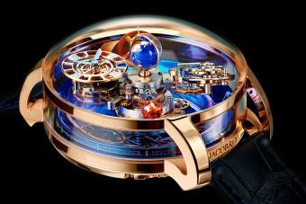 Ez az óra 190 millióba kerül, de az időt pokoli nehéz leolvasni róla
