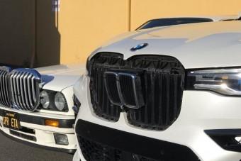 Ennyire hatalmasra nőttek a BMW vesék negyven év alatt