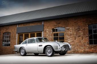 Most megveheted James Bond Aston Martinját