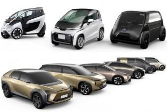 Már jövőre jönnek a Toyota villanyautók?