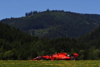 F1: Élen a Ferrari az időmérő előtt