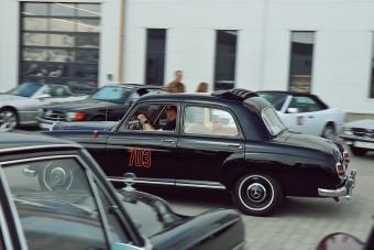 Veterán Mercedesekkel a századmásodpercek ellen