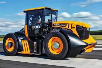 Ez a tuningolt JCB most a leggyorsabb traktor