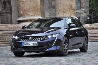 Peugeot 508 SW: a szépség nem minden