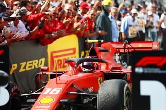F1: Leclerc-nek elfelejtettek szólni Vettel büntetéséről