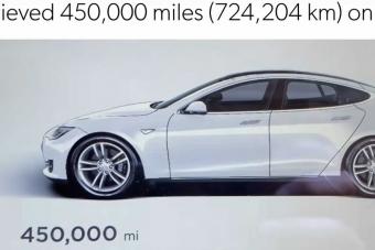 Így néz ki egy 724 ezer kilométert futott Tesla Model S