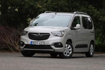 Szürke mindenes: Opel Combo Life 1,5 teszt