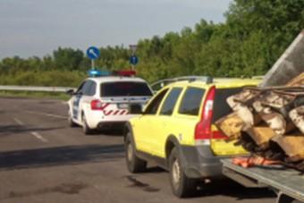 Ismét egy érdekes, de főleg szabálytalan, román vontatmányt kapcsoltak le rendőreink