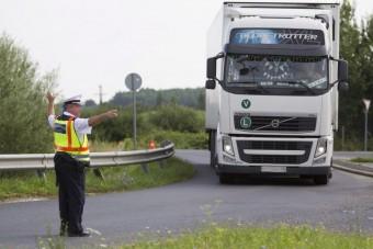 Rekordsúly egy ukrán kamionon, a hatóság is csak pislogott