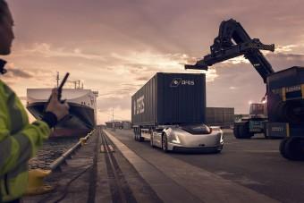 Valódi melót kapott a Volvo önvezető nyerges vontatója