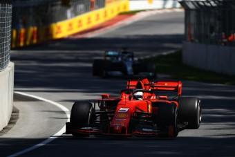 F1: Egy kormánymozdulat pecsételte meg Vettel sorsát