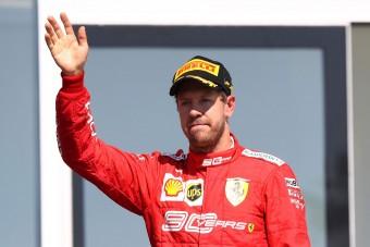 F1: Vettel akarata ellenére állt a dobogóra
