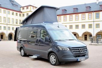Ezúttal Sprinterből épített lakóautót a Westfalia