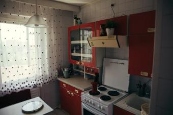 Csernobil ihlette ezt a panellakást