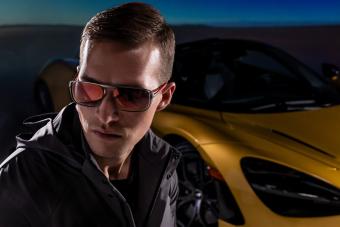 Itt a megfizethető árú, viselhető McLaren