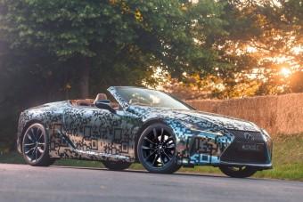 Hivatalos: újra lesz Lexus kabrió