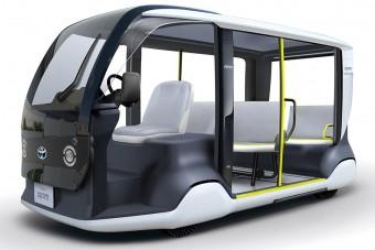Elektromos kisbuszt fejlesztett a Toyota