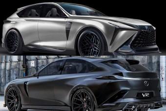 Virtuális tuningot kapott a Lexus leendő csúcsmodellje
