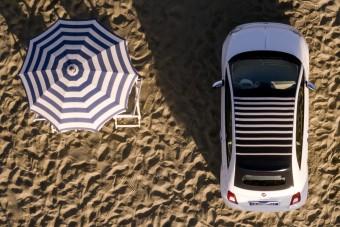 Napernyőt gyártottak a Fiat 500-asból