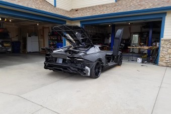 3D nyomtatóval építenek Lamborghinit egy garázsban