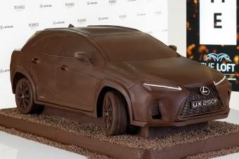 Csokinyúl helyett... csoki-SUV?!