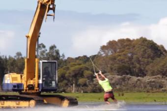 Egy melós megcsinálta a nyár instant wellness szórakozását