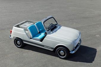 Öreg Renault-nak néz ki, pedig ez egy villanyos strandautó