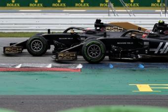 F1: Kiakadt az újabb ütközés miatt a Haas-főnök