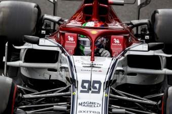 F1: Ezért csúszott ki az Alfa Romeo újonca