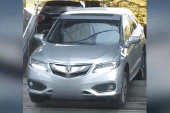 A lépcső és az autó nem jó barátok - videó