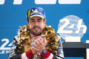 F1: Alonso is gratulált a Hondának