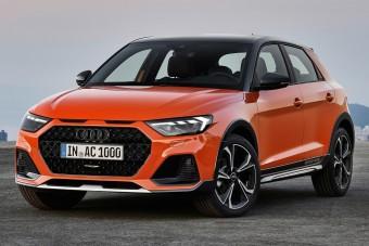 Fura neve lett a magasított Audi A1-esnek