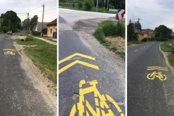 Nyaktörő kerékpárutat fotóztak Fejér megyében