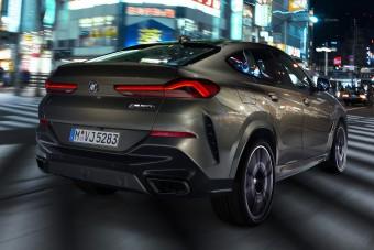 Nagyobb, agresszívabb, erősebb a vadonatúj BMW X6