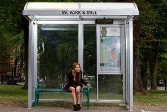 Ebben a buszmegállóban kicsit sem bánnánk ha késne a busz