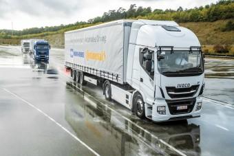 Így tennék kényelmesebbé a kamionsofőrök munkáját