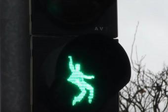 Európa legmenőbb gyalogosátkelője