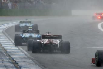 F1: Kubica elfelejtette, milyen durva esőben vezetni