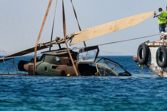 Hadtörténeti múzeum épül a víz alatt