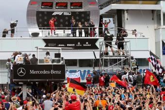 F1: A Mercedes nem menti meg a Német Nagydíjat