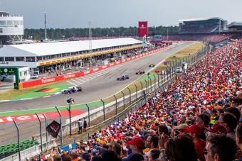 F1: Hockenheimben is kidobnak egy előzési zónát