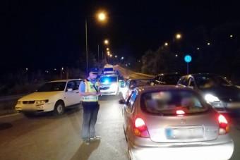 Lecsapott a rendőrség a budatétényi utcai versenyzőkre, ugrottak a forgalmik