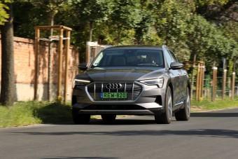 Válaszcsapás a Teslának - Teszten az Audi E-tron 55 quattro
