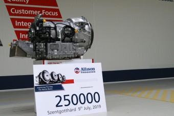 Elkészült a 250 ezredik sebességváltó Szentgotthárdon